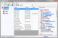 E-Z Contact Book 4.4.0.2 screenshot. Click to enlarge!