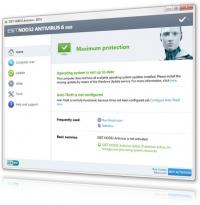 ESET NOD32 Antivirus 10.0.390.0 screenshot. Click to enlarge!