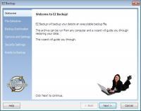 EZ Backup Outlook Basic 6.32 screenshot. Click to enlarge!