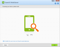 EaseUS MobiSaver Free 7.0.2017.02.06 screenshot. Click to enlarge!