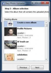 Easy Photo Uploader for Facebook 3.0.6.0 screenshot. Click to enlarge!