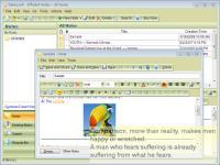 Efficient Notes 5.22.530 screenshot. Click to enlarge!