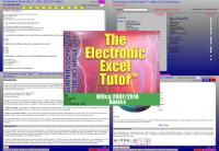 Electronic Excel Tutor - Office 2007/2013 Basics 2014.1 screenshot. Click to enlarge!