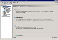 Exchange Server Toolbox 5.5.4.909 screenshot. Click to enlarge!