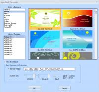 EximiousSoft Business Card Designer 5.10 screenshot. Click to enlarge!