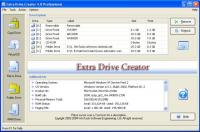 Extra Drive Creator Professional 16.1 screenshot. Click to enlarge!