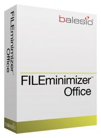 FILEminimizer Office 5.0 screenshot. Click to enlarge!