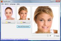 FaceMorpher Lite 2.5 screenshot. Click to enlarge!