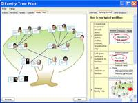 Family Tree Pilot 1.04 screenshot. Click to enlarge!