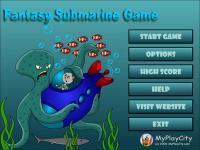 Fantasy Submarine Game 3.1 screenshot. Click to enlarge!