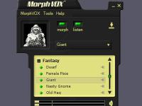 Fantasy Voices - MorphVOX Add-on 1.3.2 screenshot. Click to enlarge!