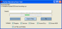 Farbar Recovery Scan Tool 29.6.2017.0 screenshot. Click to enlarge!