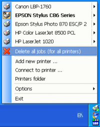 Fast Printer Chooser 4.7 screenshot. Click to enlarge!