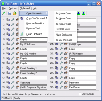 FastPaste 3.18 screenshot. Click to enlarge!
