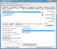 Fastream IQ Proxy Server 5.6.5R screenshot. Click to enlarge!