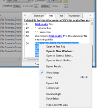 FileLocator Pro Portable 8.2.2735 screenshot. Click to enlarge!
