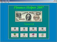 Finance Helper 6.0 screenshot. Click to enlarge!