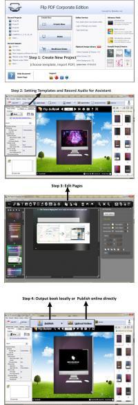 Flip PDF Corporate Edition 2.4.8.3 screenshot. Click to enlarge!