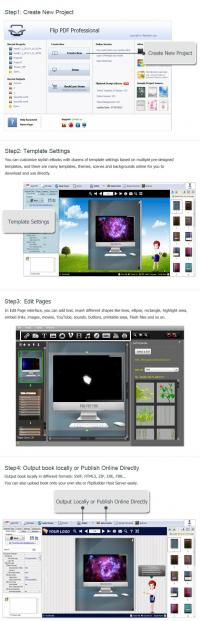 Flip PDF Professional 2.4.8.3 screenshot. Click to enlarge!