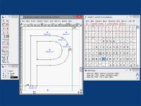FontForge Portable 4-Oct-2016 screenshot. Click to enlarge!