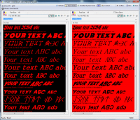 FontViewOK 4.46 screenshot. Click to enlarge!
