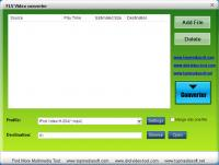Free FLV to Palm Converter 4.0.03 screenshot. Click to enlarge!