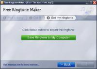 Free Ringtone Maker Portable 2.5.0.569 screenshot. Click to enlarge!