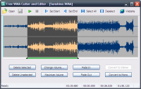 Free WMA Cutter and Editor 2.7.0.571 screenshot. Click to enlarge!
