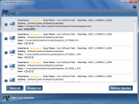 Free Windows Registry Cleaner HLP 1.2.2 screenshot. Click to enlarge!