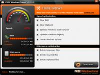 Free Windows Tuner 2.0.1.3 screenshot. Click to enlarge!