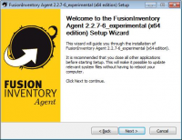 FusionInventory Agent 2.3.19 screenshot. Click to enlarge!
