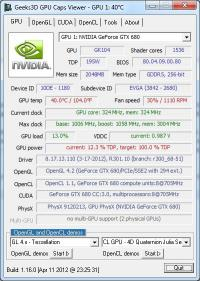 GPU Caps Viewer 1.34.3.1 screenshot. Click to enlarge!