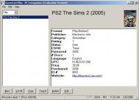 GameList Plus 4.5.9 screenshot. Click to enlarge!