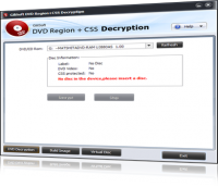 GiliSoft DVD CSS Decryption 2.8.0 screenshot. Click to enlarge!