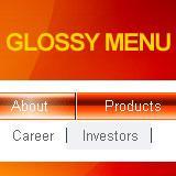 Glossy Flash Menu 1.0.5 screenshot. Click to enlarge!