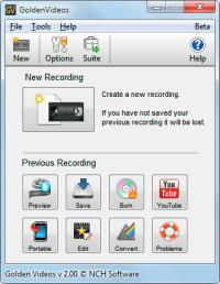 Golden Videos 3.04 screenshot. Click to enlarge!