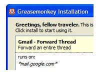 Greasemonkey 3.11 screenshot. Click to enlarge!