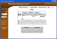 Guitar Arpeggio Arsenal 3.0 screenshot. Click to enlarge!