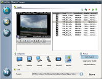 HDX4 Movie Creator 1.6.2.318 screenshot. Click to enlarge!