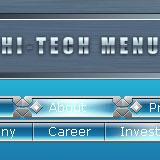Hi-Tech Flash Menu 1.0.5 screenshot. Click to enlarge!