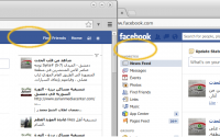 Hide Facebook Name 1.3 screenshot. Click to enlarge!