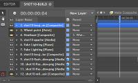HitFilm Pro 4.0.5609.10802 screenshot. Click to enlarge!