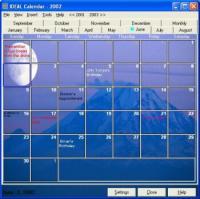 IDEAL Calendar 4.7 screenshot. Click to enlarge!