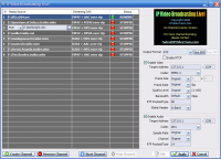 IP Video Transcoding Live! 5.10.3.3 screenshot. Click to enlarge!