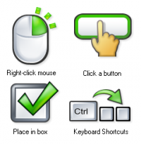 Icons for Technical Writers 1.0 screenshot. Click to enlarge!
