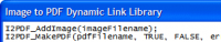 Image to PDF Dynamic Link Library 2.73 screenshot. Click to enlarge!