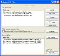 Image2PDF Pilot 2.16.108 screenshot. Click to enlarge!