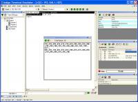 Indigo Terminal Emulator 2.0.112 screenshot. Click to enlarge!
