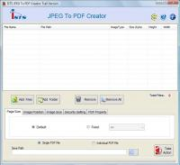 JPG to PDF format 2.8.0.4 screenshot. Click to enlarge!