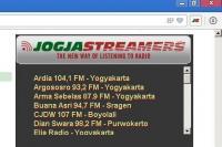 Jogja Streamers 1.3 screenshot. Click to enlarge!